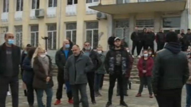 Жители на варненското село Константиново излязоха на протест заради съмнителна