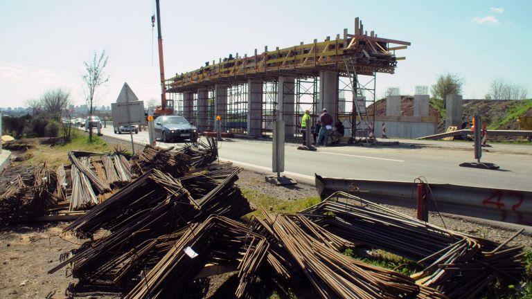 Усилено се работи по изграждането на Северния обход на Бургас