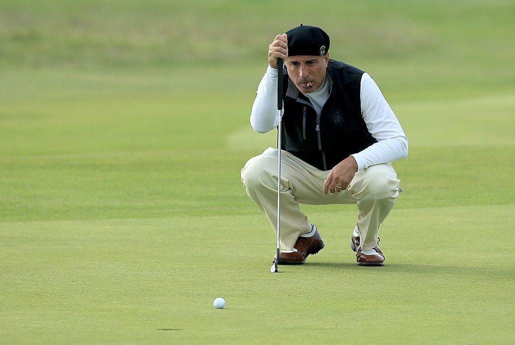 Анди Гарсия играе голф