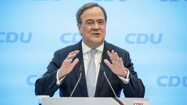 Германският консерватор Армин Лашет, който е лидер на Християндемократическия съюз