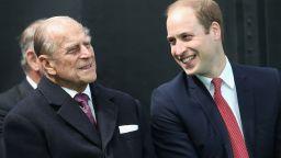 Принц Уилям отдаде почит на дядо си с непоказвана досега снимка