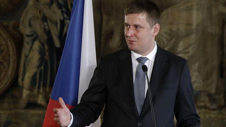 Чешкият министър на външните работи Томаш Петричек, който се противопостави