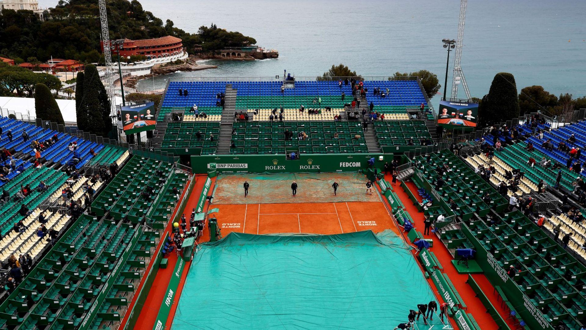 Пороен дъжд отложи първия мач на Григор Димитров в Монте Карло