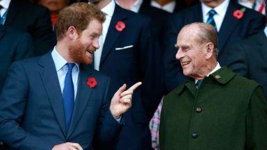 Принц Хари отдаде почит на покойния принц Филип