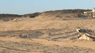 """Дюните на плажа """"Смокиня"""" не са засегнати от багера"""
