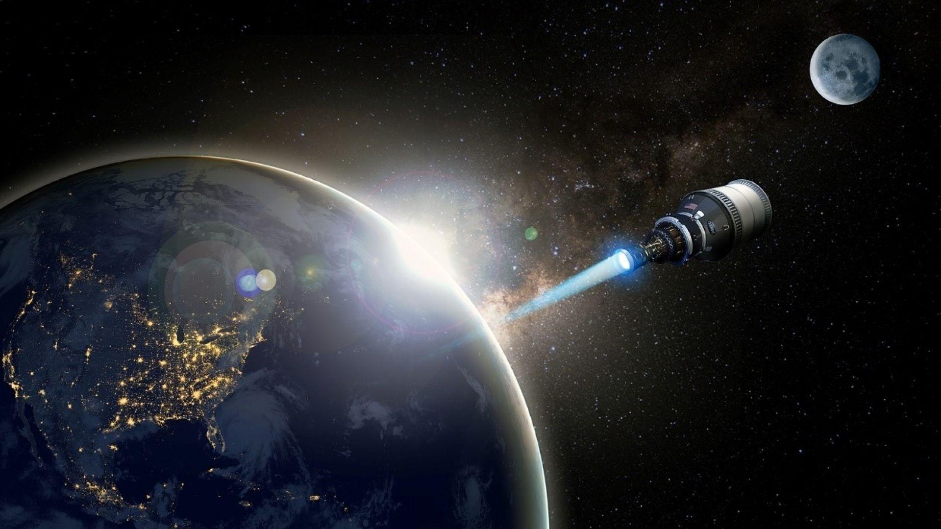 DARPA планира да пусне космически кораб с ядрен реактор