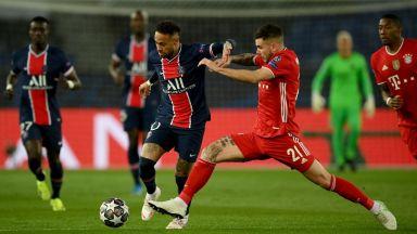 ПСЖ - Байерн 0:1, две греди на Неймар (Шампионска лига на живо)
