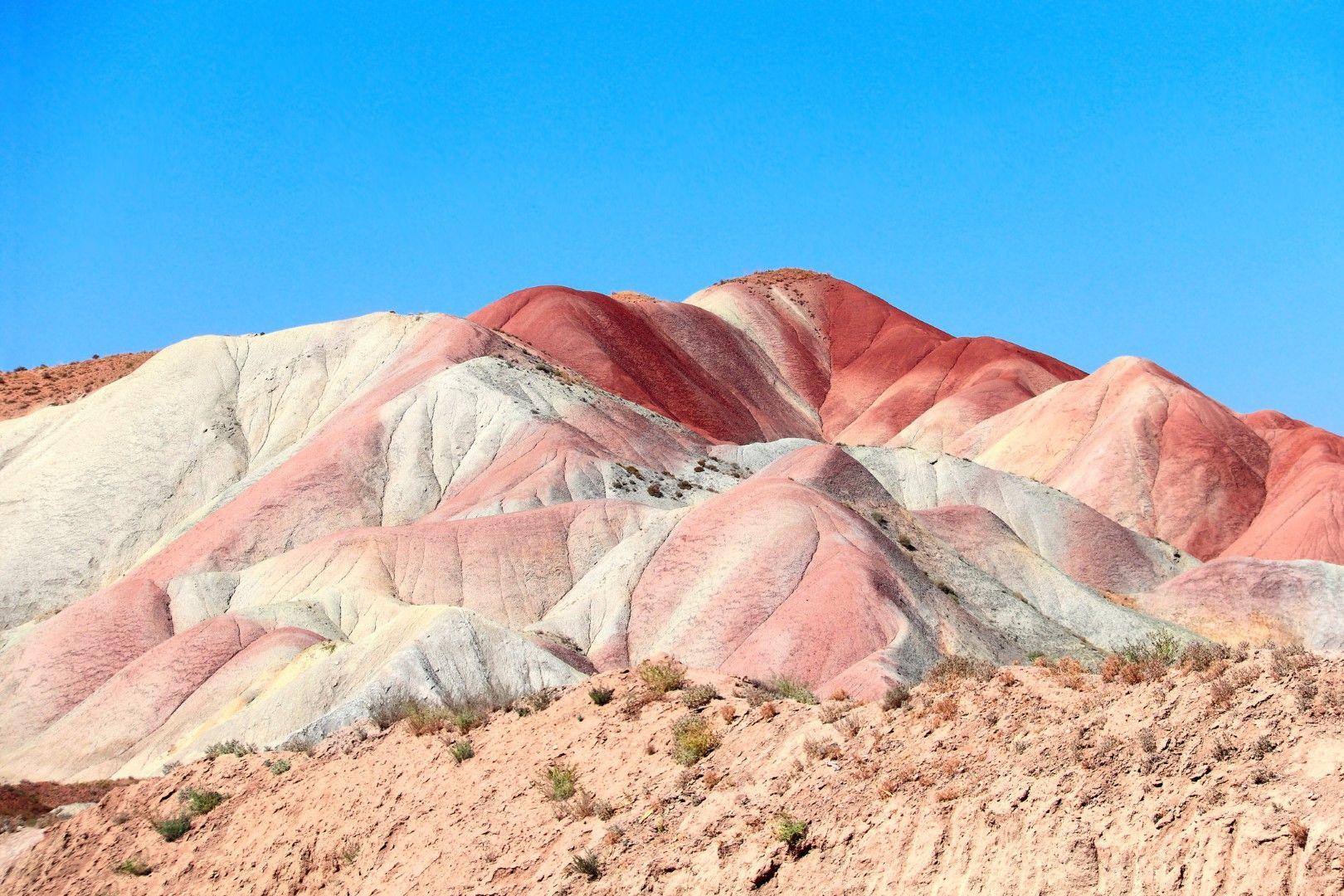 Боядисаните хълмове, САЩ