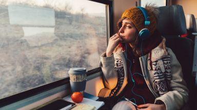 Три пролетни пътешествия с влак из България