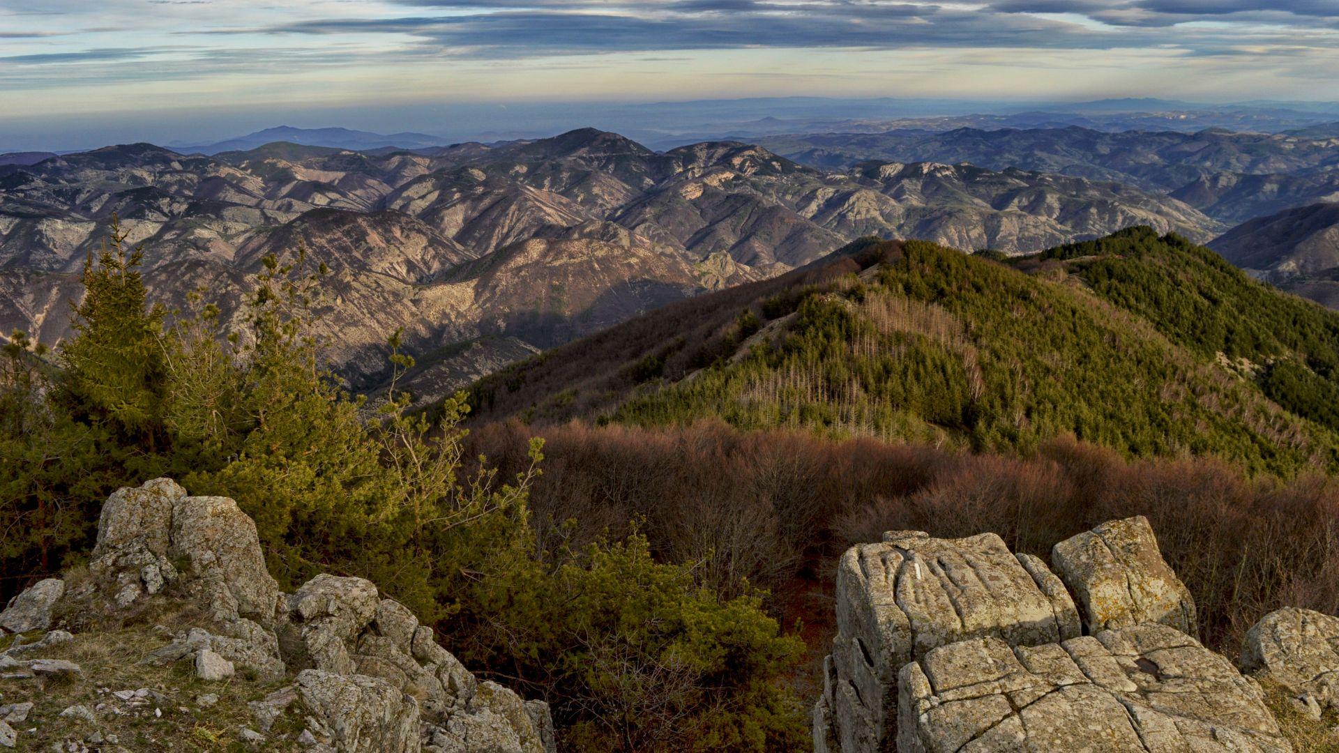 Гледката от връх Чиляка