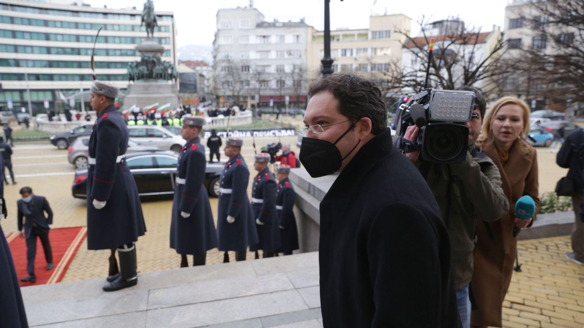 Номинираният за премиер от ГЕРБ Даниел Митов