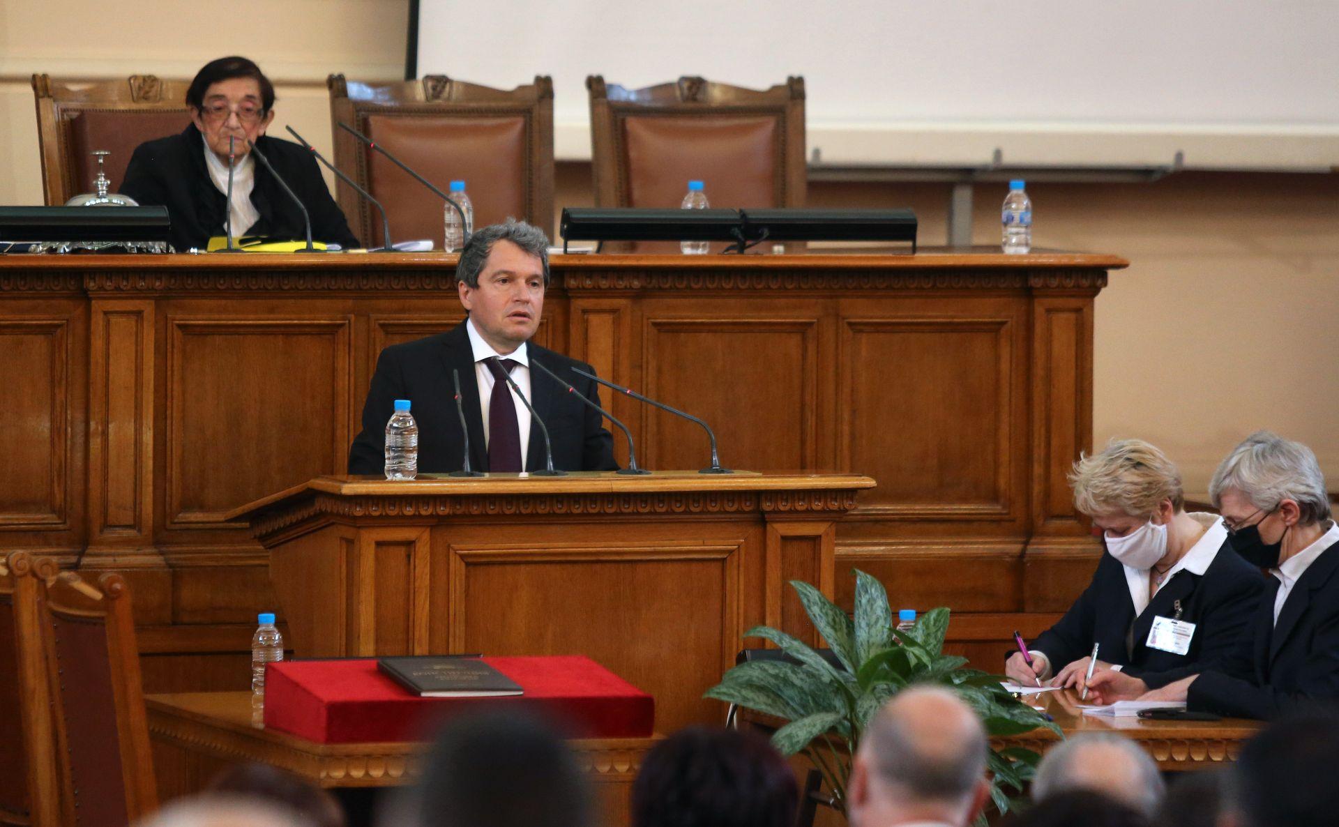 """Зам.-председателят на """"Има такъв народ"""" Тошко Йорданов"""