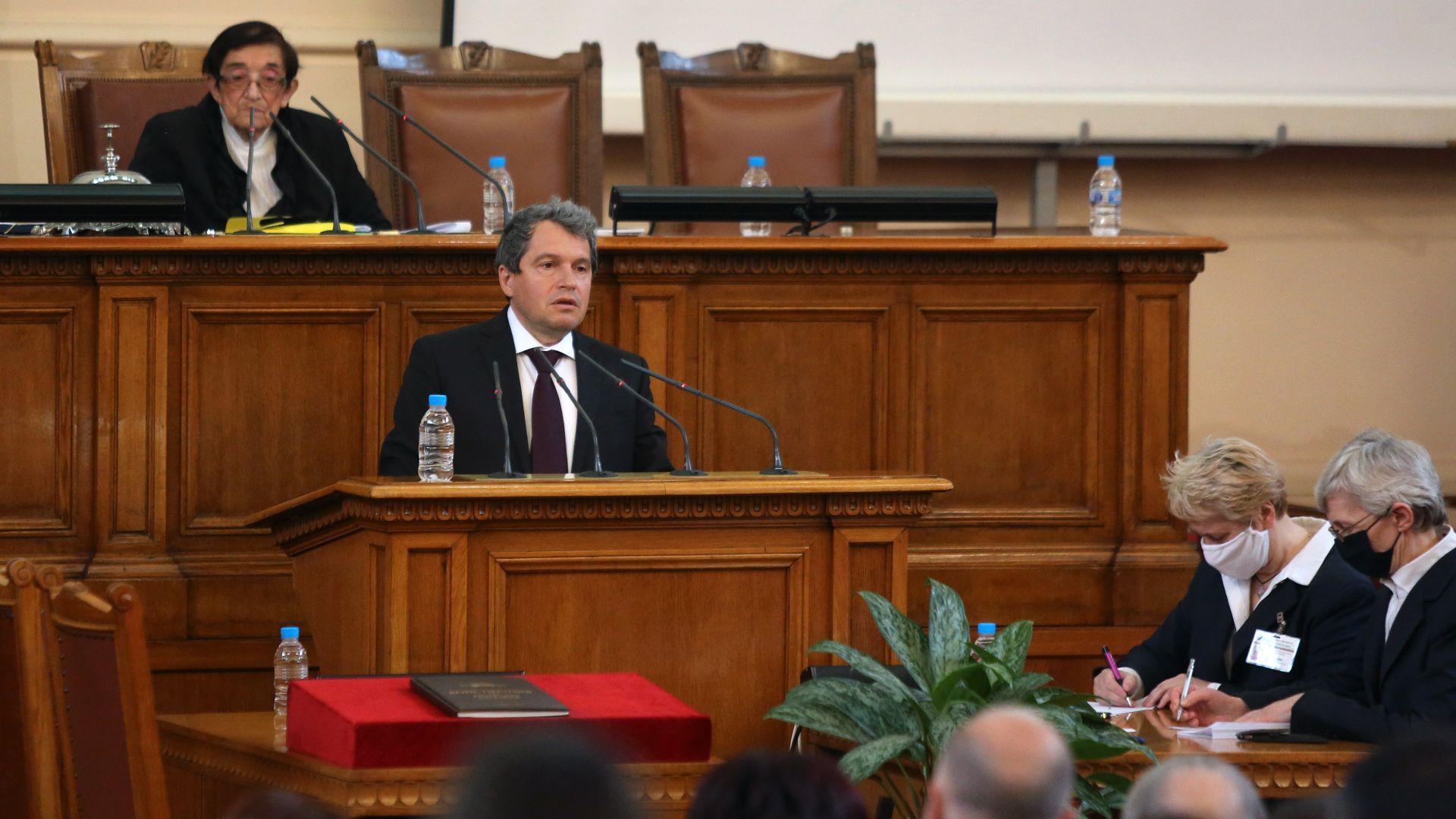 """""""Има такъв народ"""" внася искане за субсидия от 1 лев, но за мажоритарен вот няма мнозинство"""