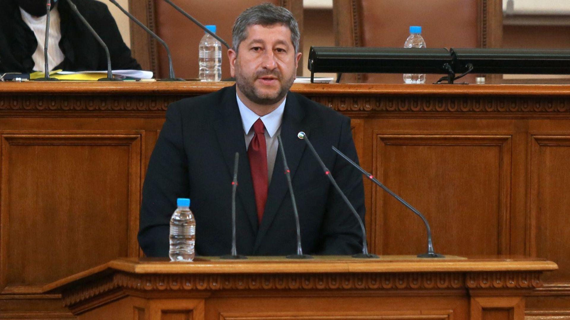 """Христо Иванов: Готови сме на разговор за политики, ако """"Има такъв народ"""" съставя кабинет"""