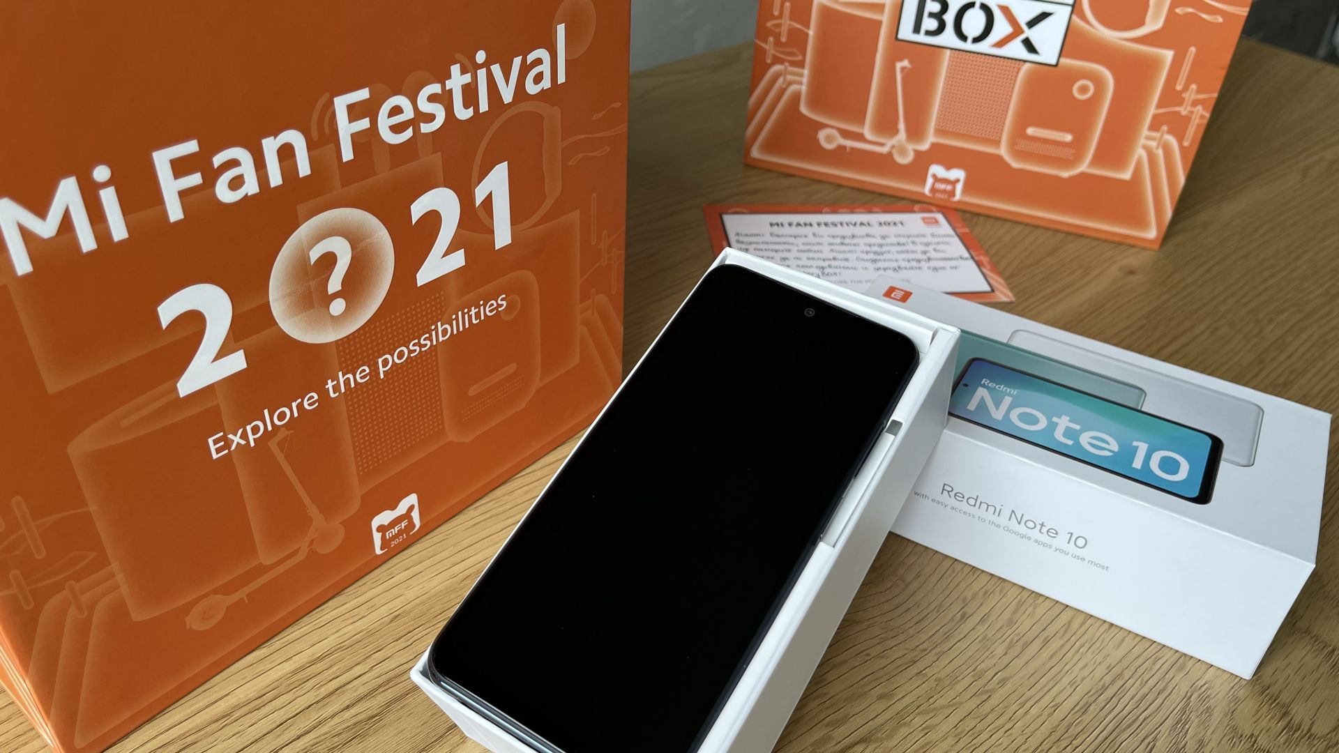 Mi Fan Festival 2021 или какво знаем за Redmi Note 10