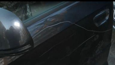 Коли осъмнаха с безмислостно одрани брони в столичен квартал (видео)