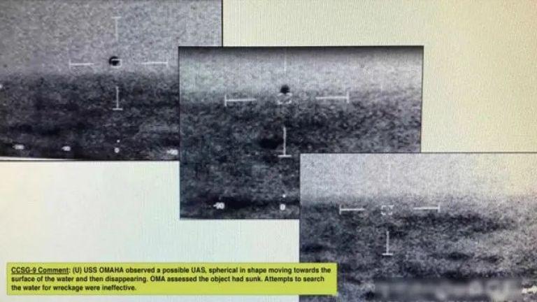 Изчезналото за секунди НЛО, следено от USS Omaha