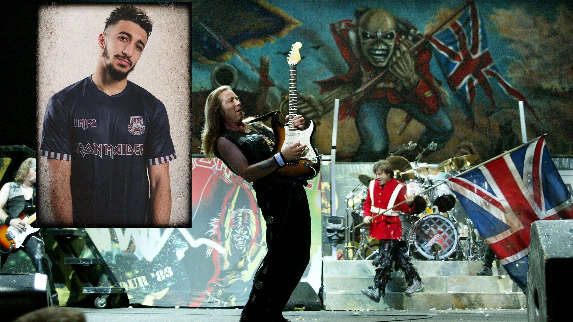Култово партньорство - Уест Хем сложи на екипа името на една от най-великите метъл банди