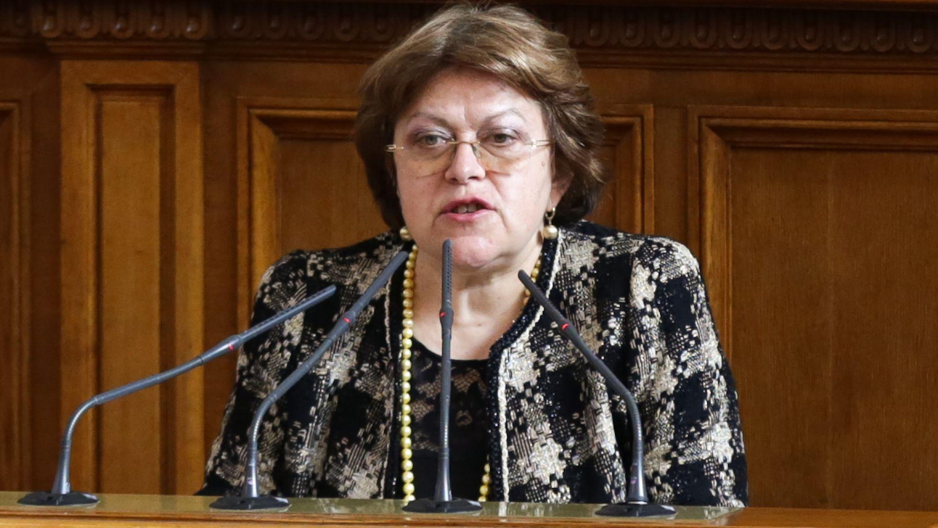 Татяна Дончева посъветва президента да се освободи от Пламен Узунов