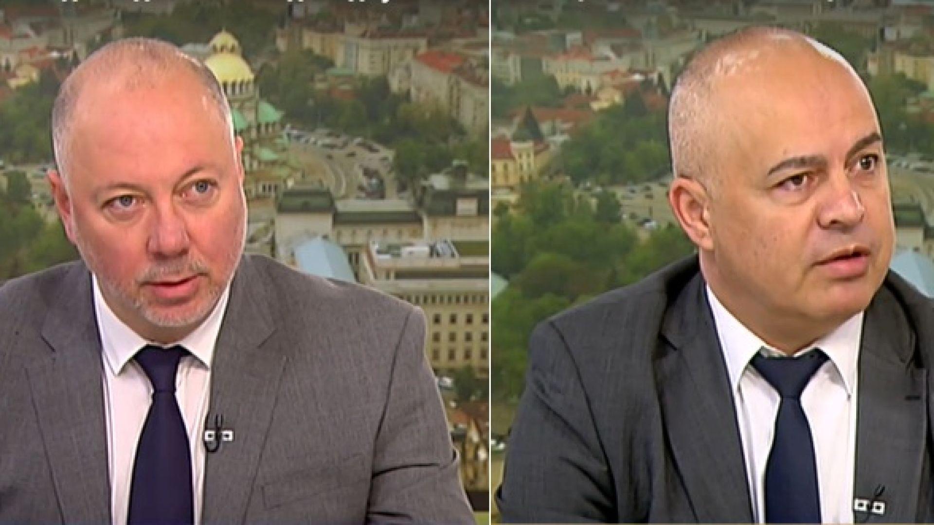 Свиленски срещу Желязков: Ще се самоунижи ли Борисов в НС, или ще бъде унижен