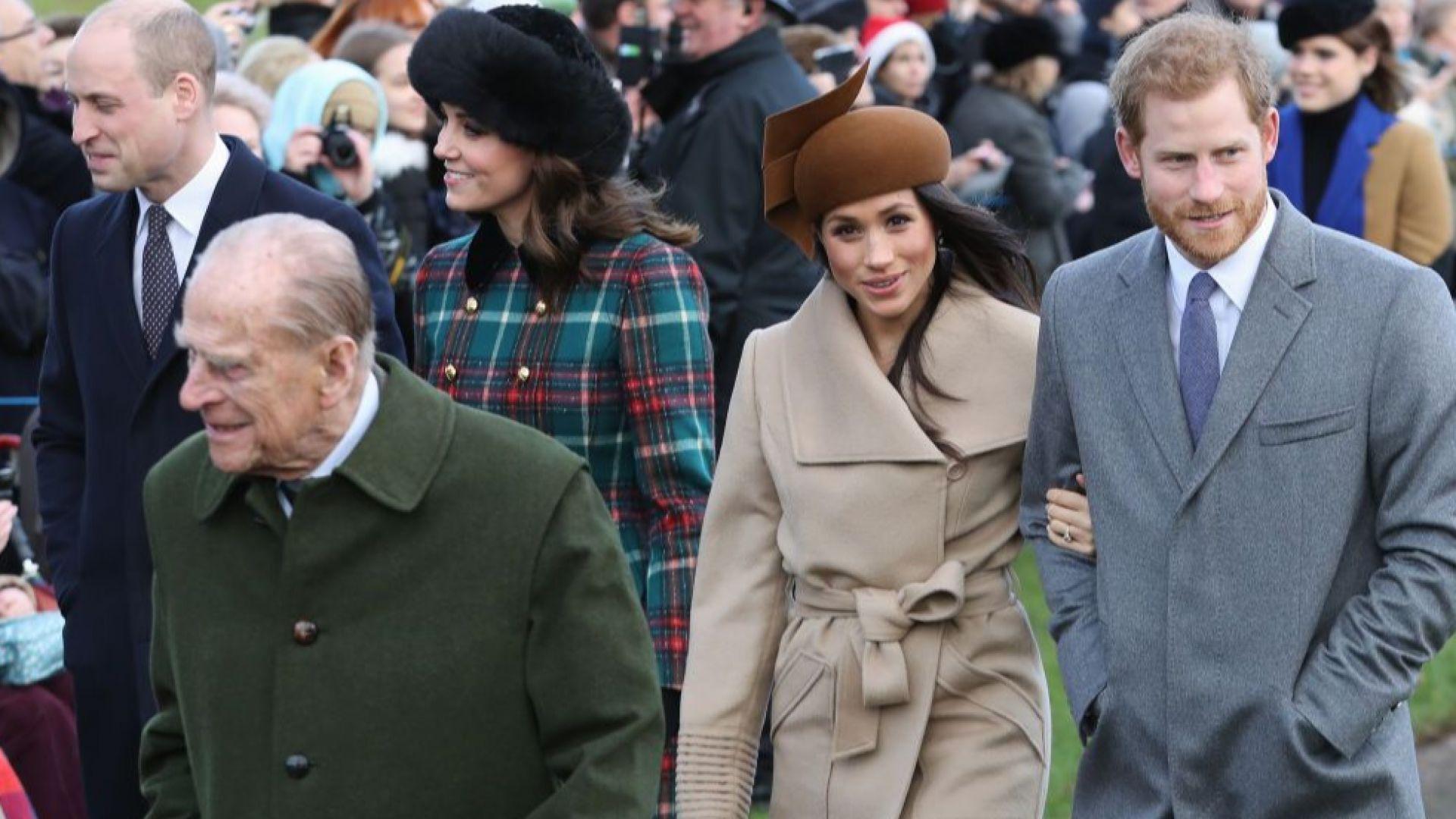 Как Меган Маркъл отдаде почит на принц Филип