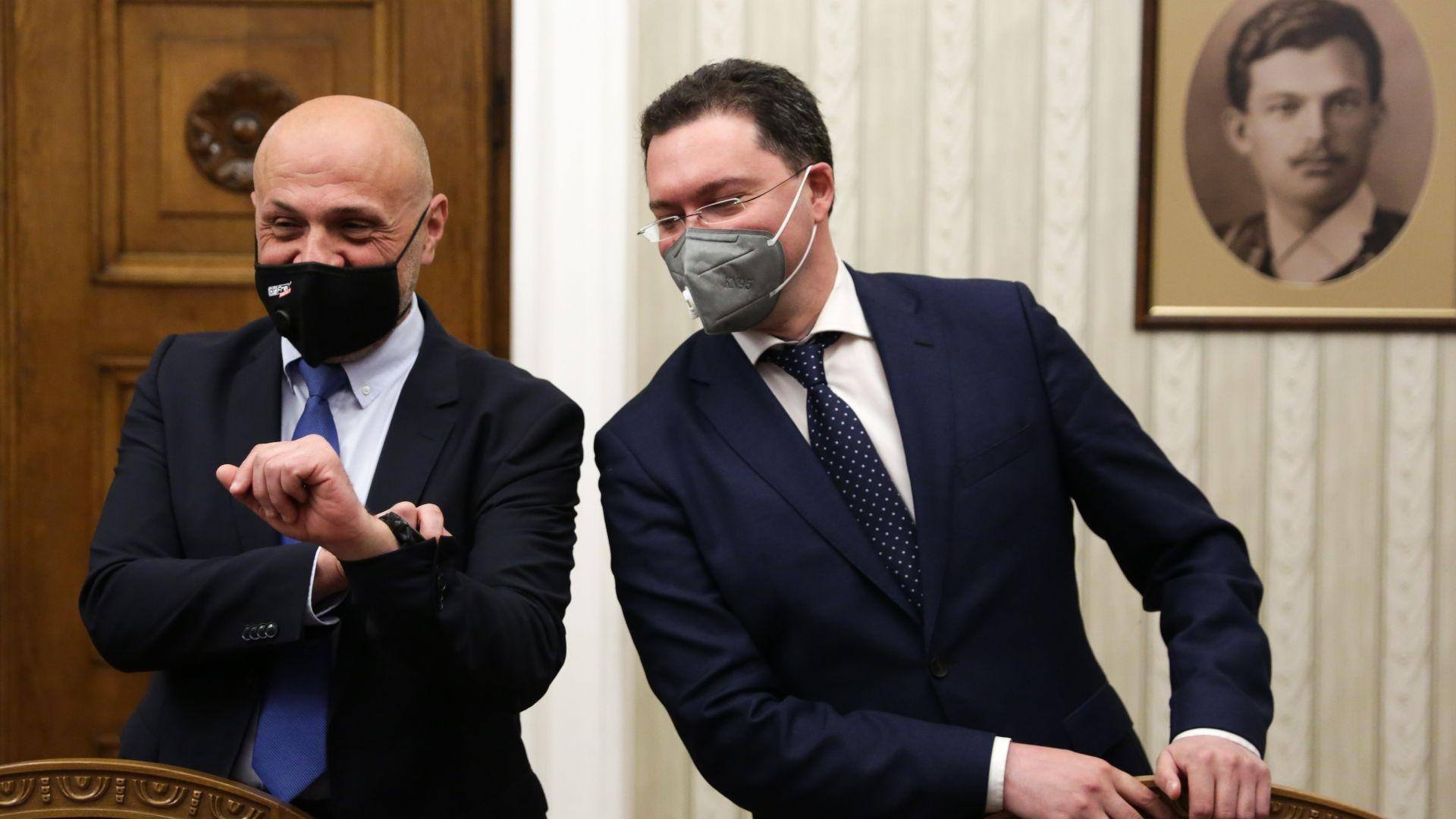 Томислав Дончев и Даниел Митов станаха вторите в ГЕРБ