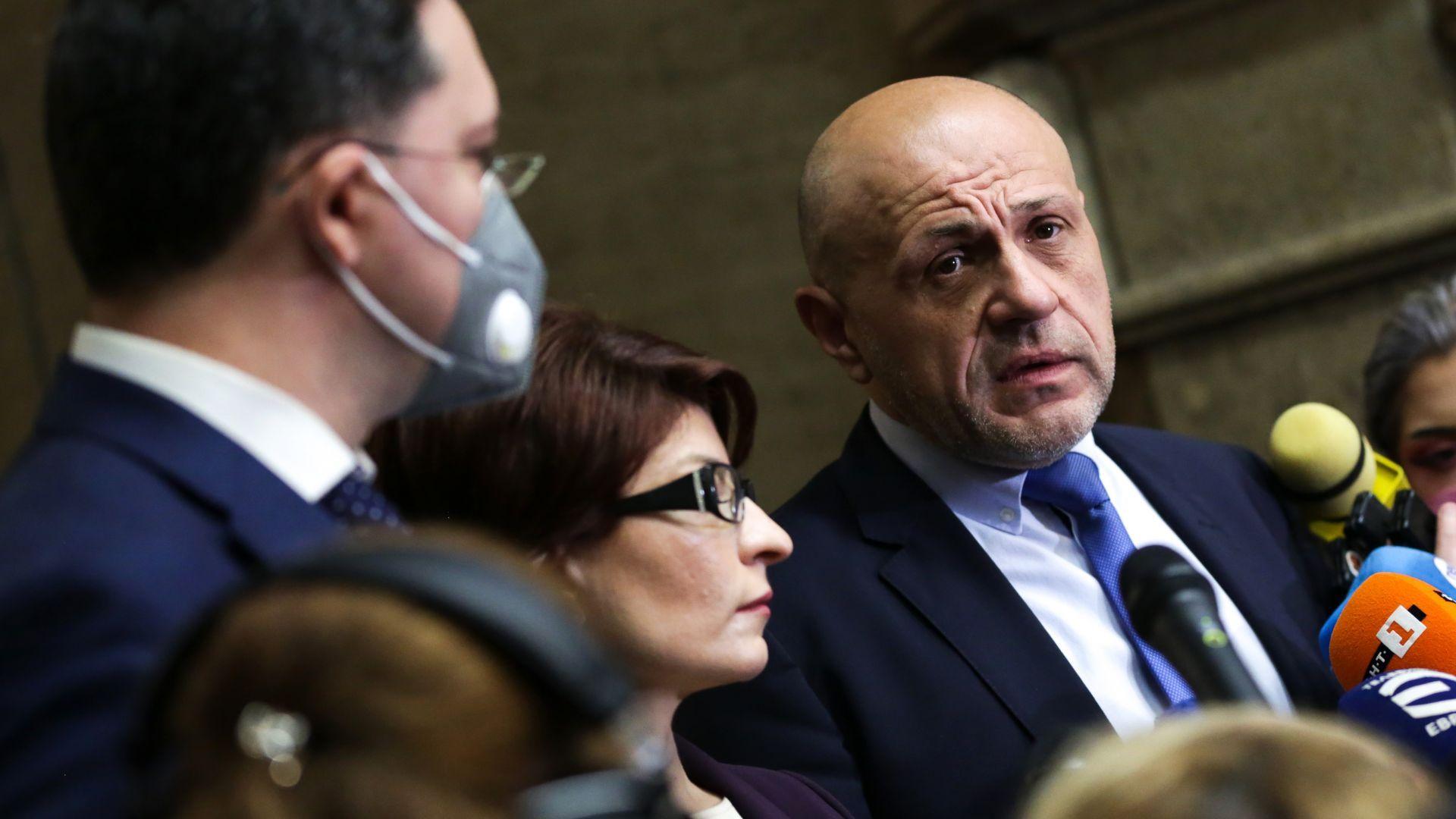 ГЕРБ може да върне мандата и да не внесе проектокабинета си в Народното събрание (видео)