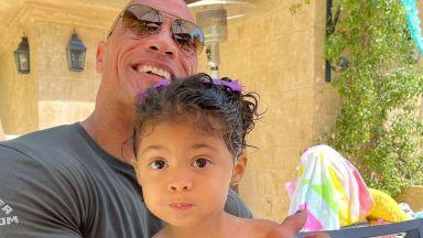 Дуейн Джонсън - Скалата подари на дъщеря си разговор с Аквамен за рождения ѝ ден