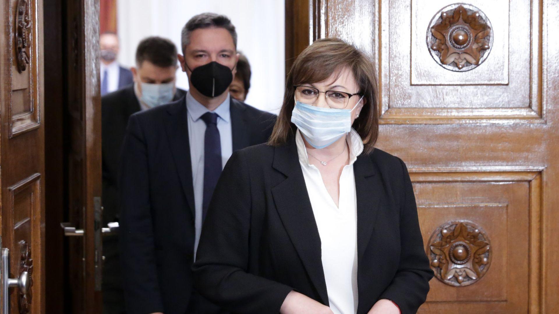 Корнелия Нинова предлага таван от 1 млн. лева за кредити от ББР