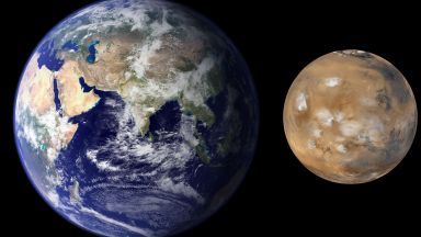 Какво виждате на снимките - Марс или Земята?