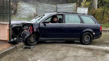 """Пиян шофьор блъсна пешеходец в """"Бояна"""" и се опита да избяга (снимки)"""