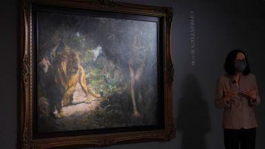 """""""Най-високо оцененото"""" азиатско произведение на изкуството отива на търг"""