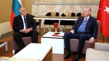 Борисов проведе телефонен разговор с Ердоган