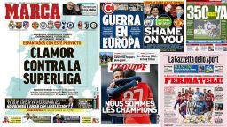 Световната спортна преса: Никой не иска Суперлигата, змии и лъжци!