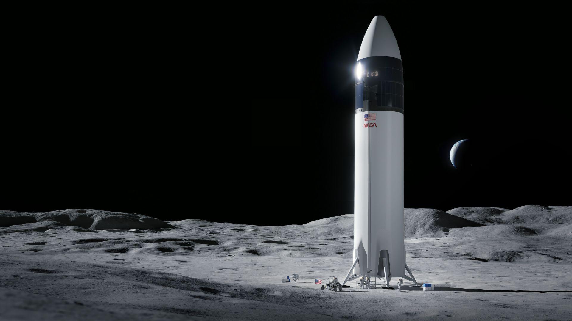 Blue Origin оспорва успеха на SpaceX и избора им от НАСА