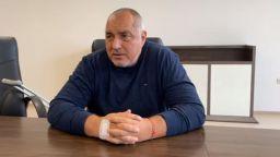 Борисов представи от болницата проектокабинета си (видео)