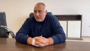 Борисов обявява министри от болницата: Не се кандидатирах за премиер, за да е мир