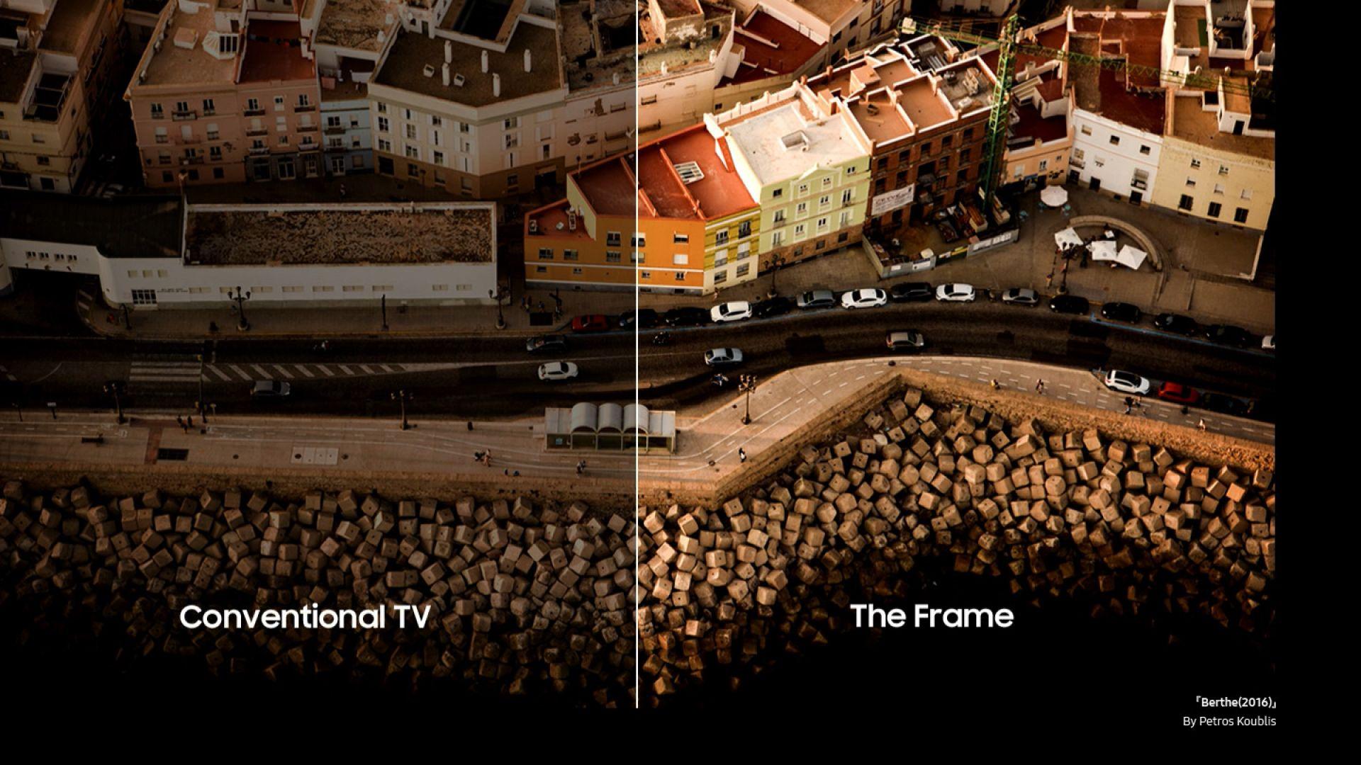 The Frame 2021 на Samsung е същински пир за окото