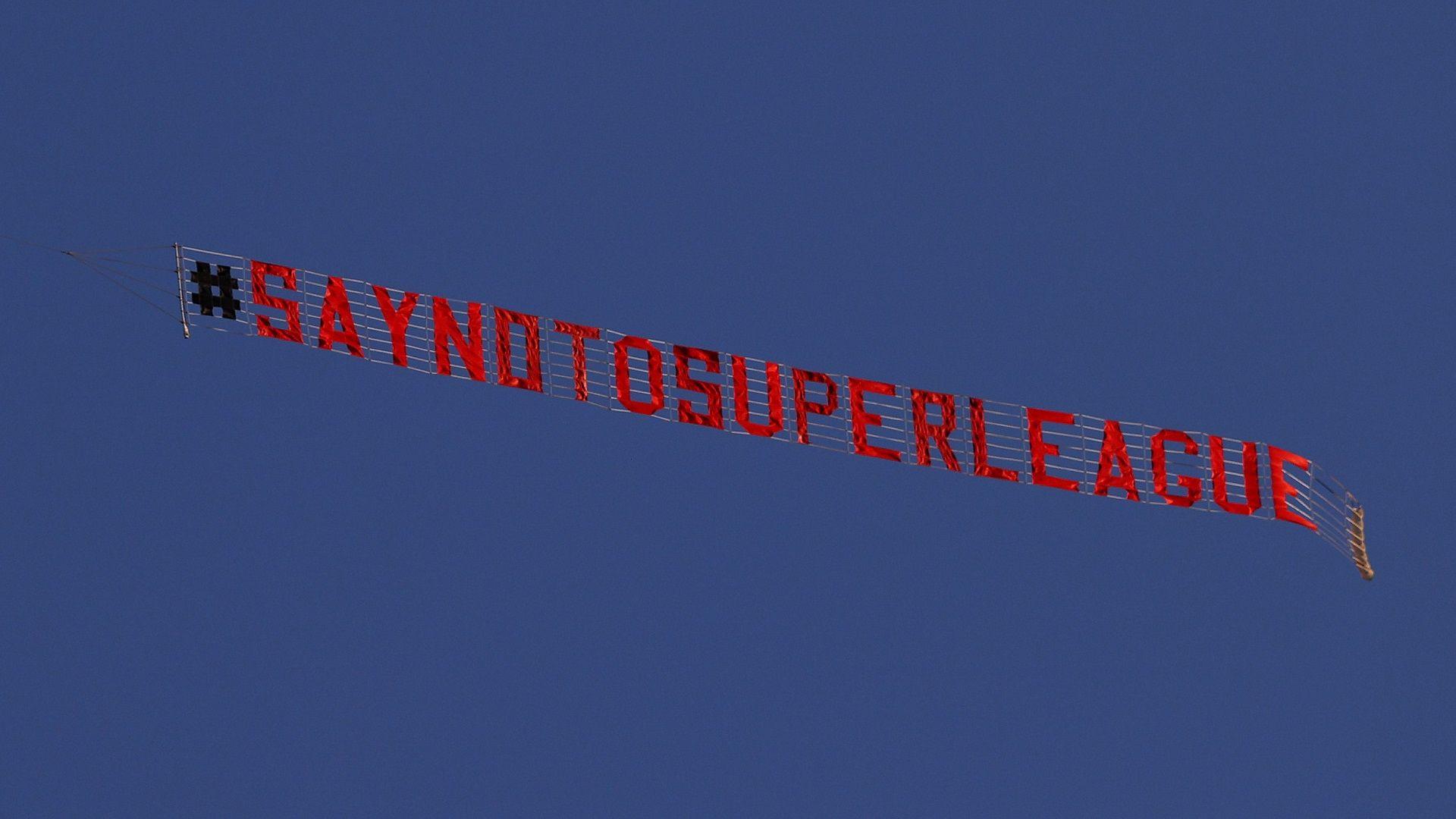 Отговорът на Суперлигата: Има външен натиск, ще преосмислим проекта