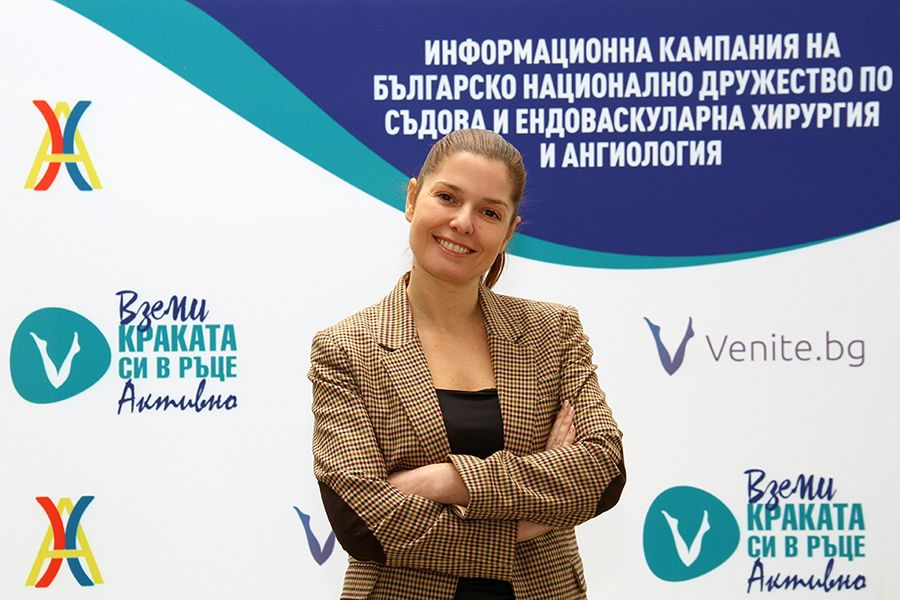 Актрисата Александра Сърчаджиева