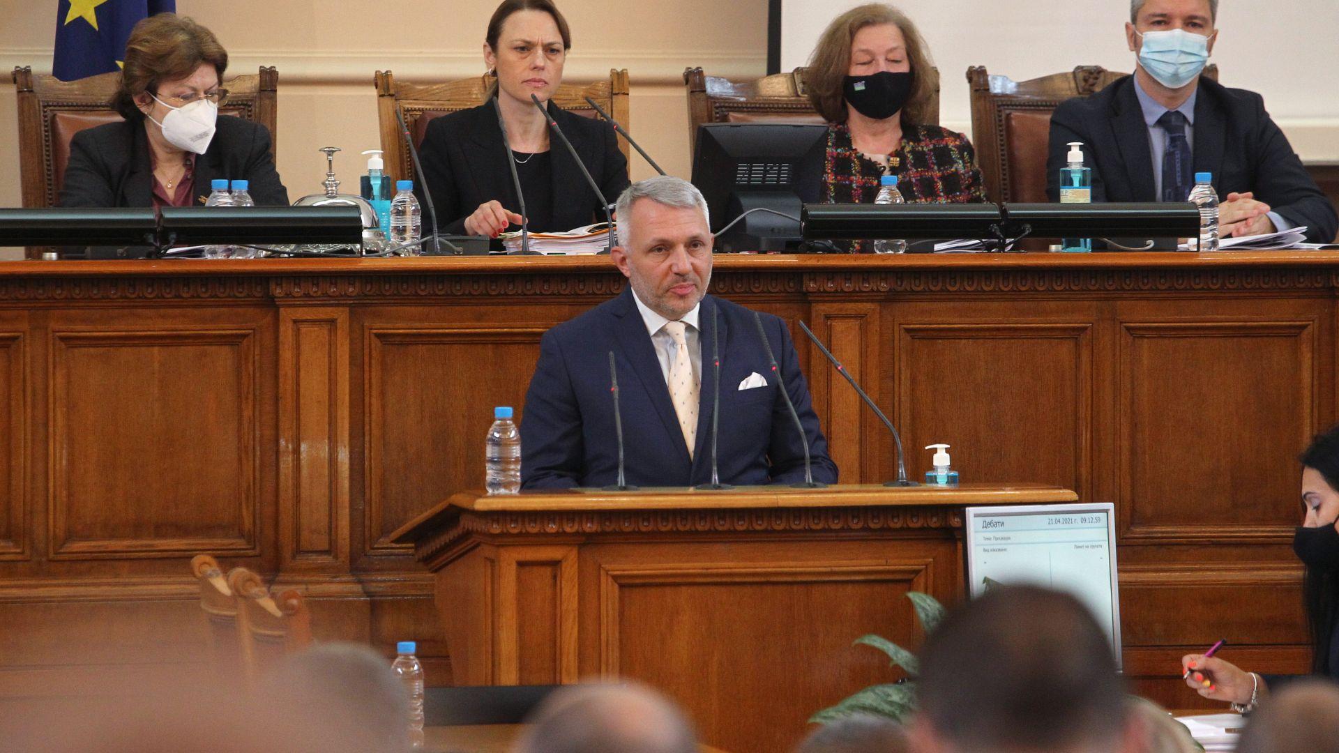 Хаджигенов: Водим неофициални разговори, с нагласа сме да има правителство