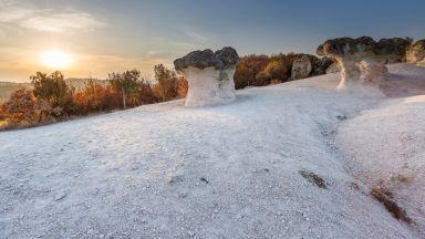 Каменните гъби край село Бели пласт: да се почувстваш като джудже