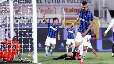 Гълъбинов и компания охладиха шампионския ентусиазъм на Интер