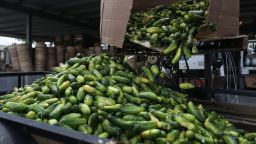 Изсипаха 100 кг. краставици в знак на протест срещу гей-парад в Бургас (видео)