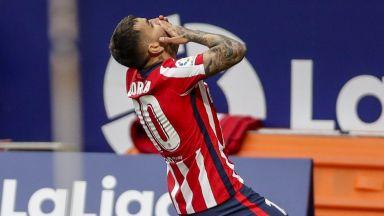 Атлетико взе задължителна победа и си върна върха