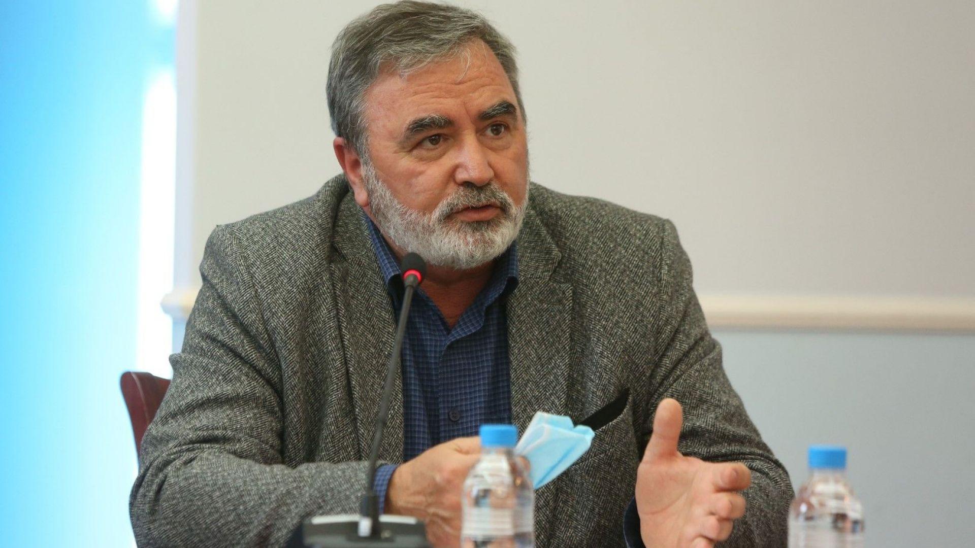 Ангел Кунчев готов да остане в Щаба и при следващото правителство
