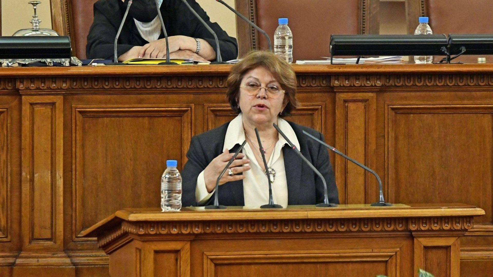 Татяна Дончева: Ако сценаристите се наредят в Министерски съвет, ще се замисля дали ще им бъде по силите