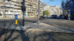 Затварят през уикенда за асфалтиране централно кръстовище в Бургас
