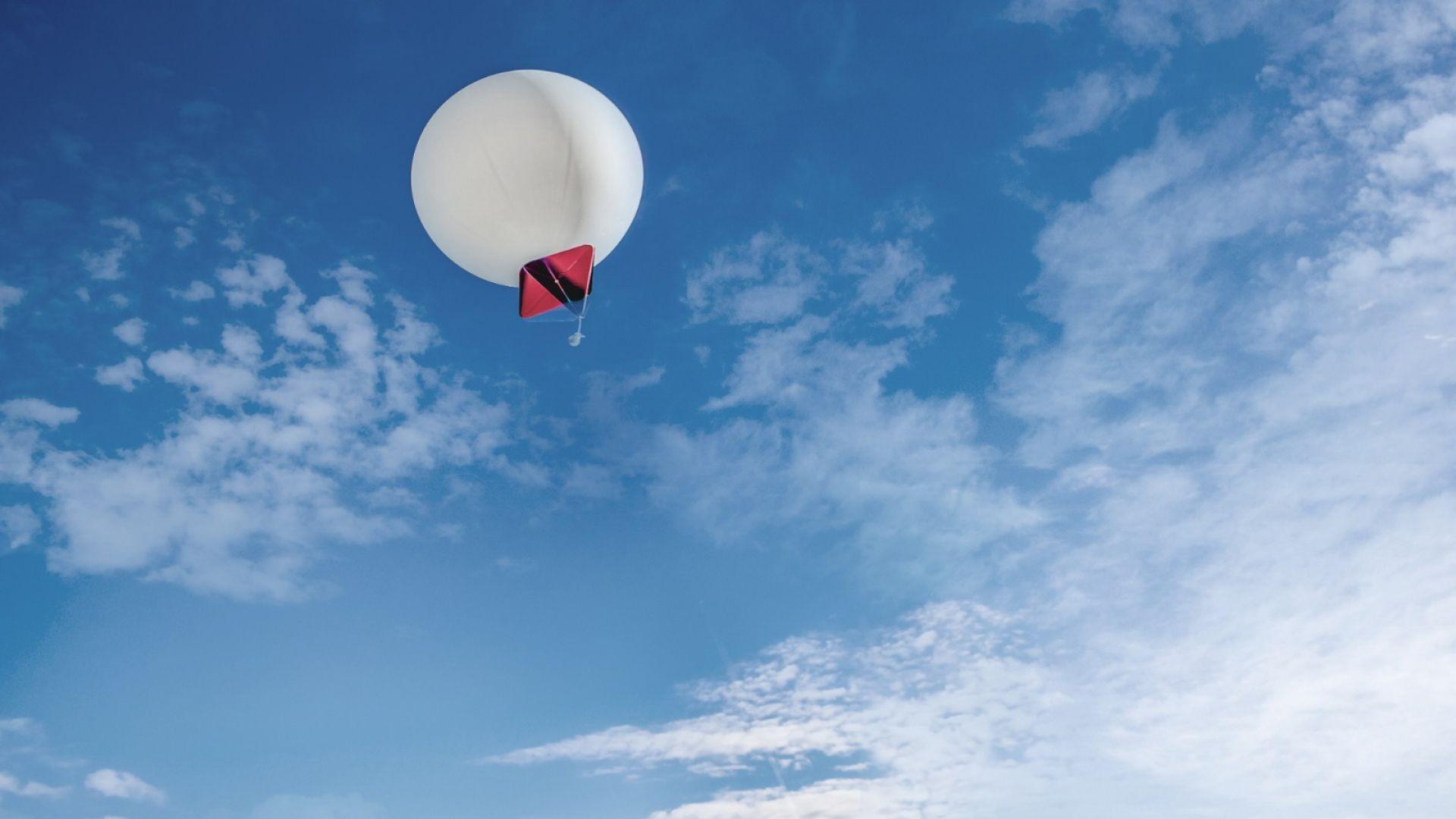 Стартъп планира да извлича атмосферен CO2 чрез балони с горещ въздух