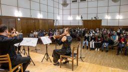 В плен на магията на френската музика с КласикАрт и специалните им гости (галерия)